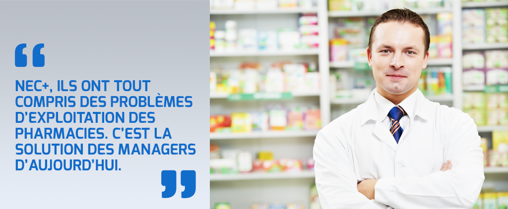 Solution pour la gestion de pharmacie